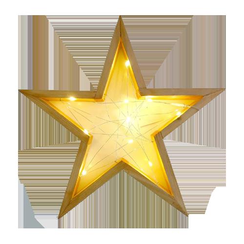 Estrela decorativa LED