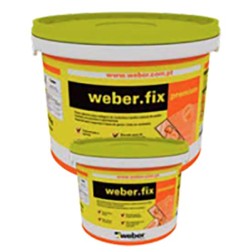 Colagem de cerâmica de pequeno formato Weber Fix Premium