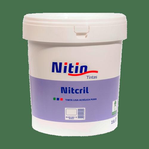 Tinta Aquosa Acrílica Pura -Nitcril 15Lt