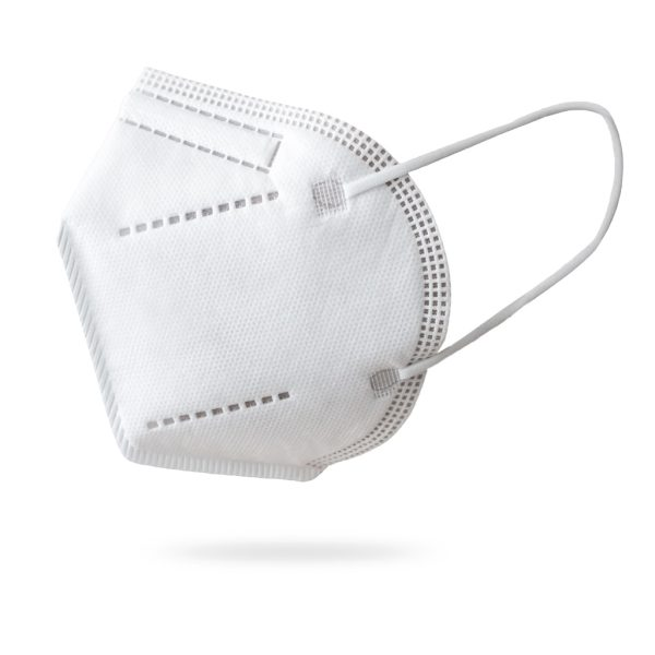 Máscara proteção descartável FFP2