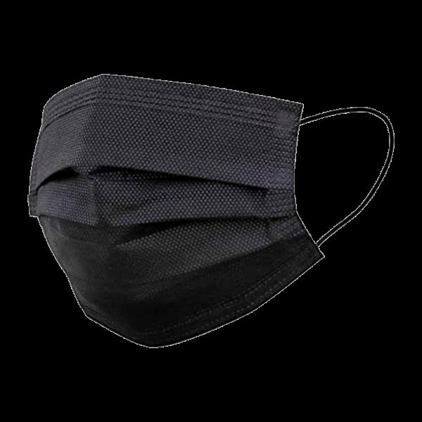 Mascara de Proteção Descartável PRETA cx 50uni